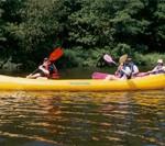 Descente de rivière en canoë