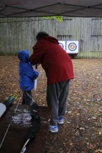 50 ans - tir à l'arc