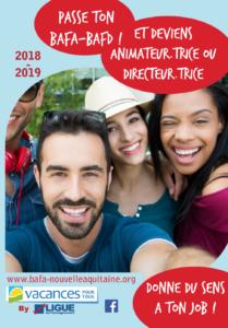 Plaquette BAFA BAFD 2018-2019