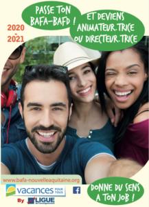Plaquette BAFA-BAFD 2020-2021