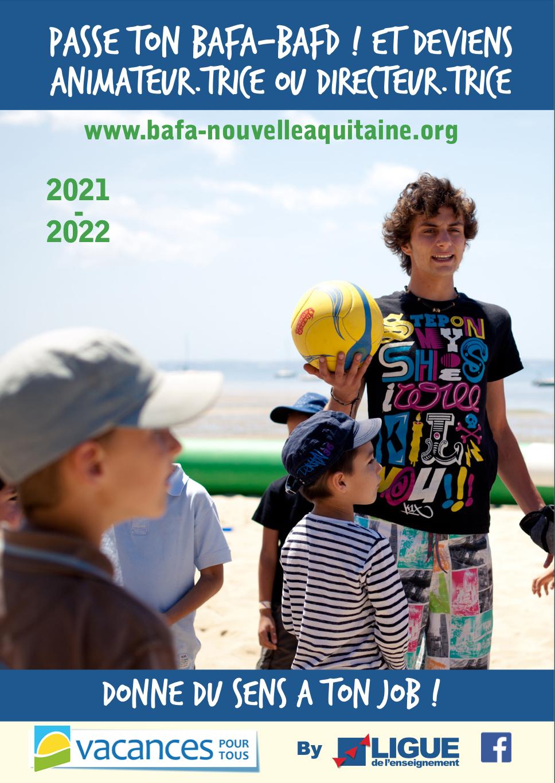 Plaquette BAFA BAFD 2021-2022